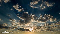 fotografia de stock cielo y nubes