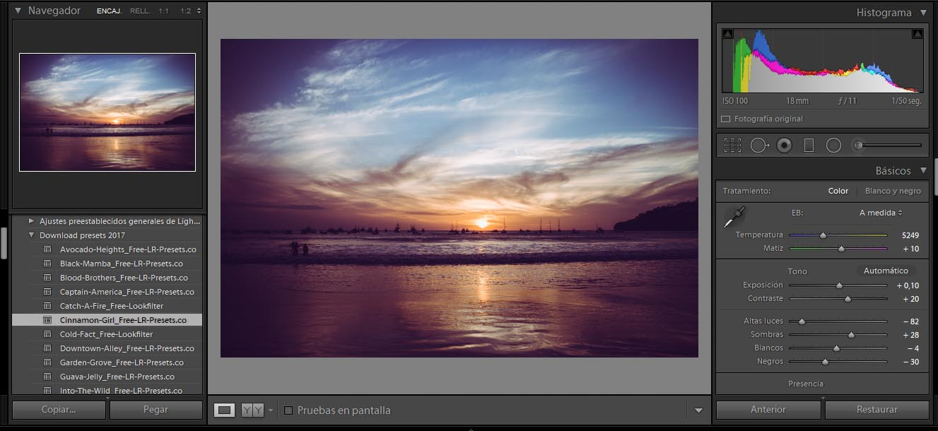 tutorial presets lightroom gratis