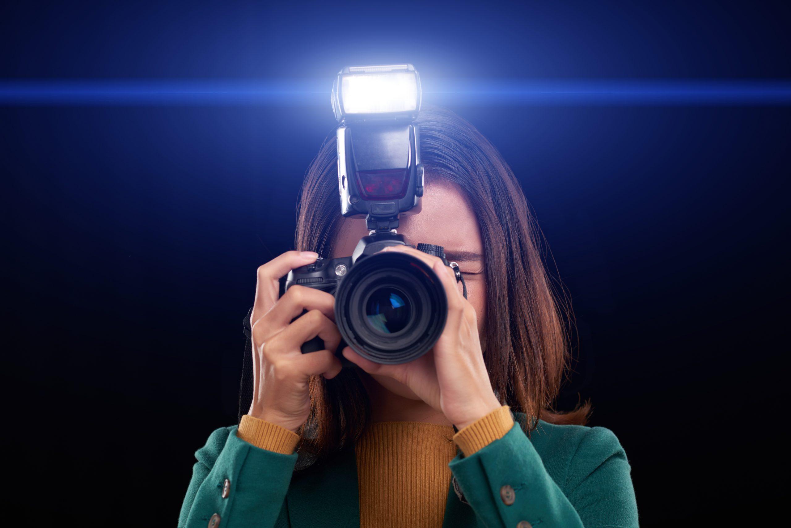 flash fotografia stock