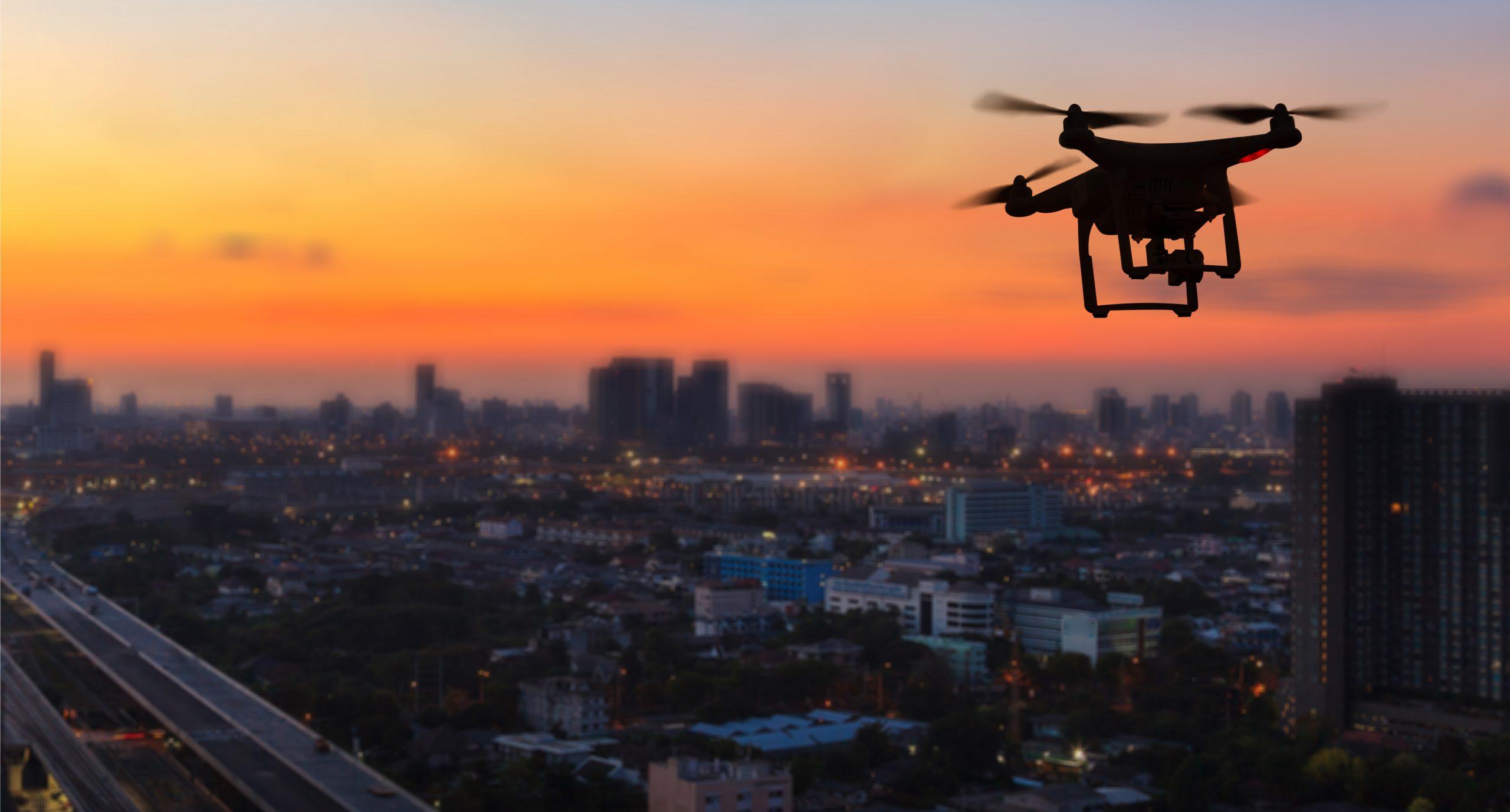 fotografia stock con drone
